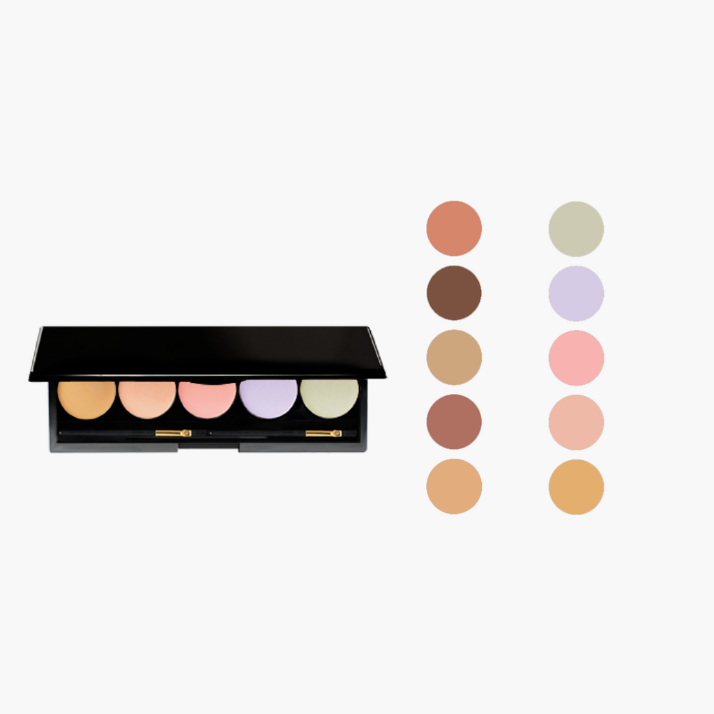 5-Well Cream Corrector Palette.