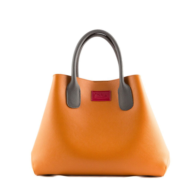 Mitzify Handbag Design No. 49 in Orange