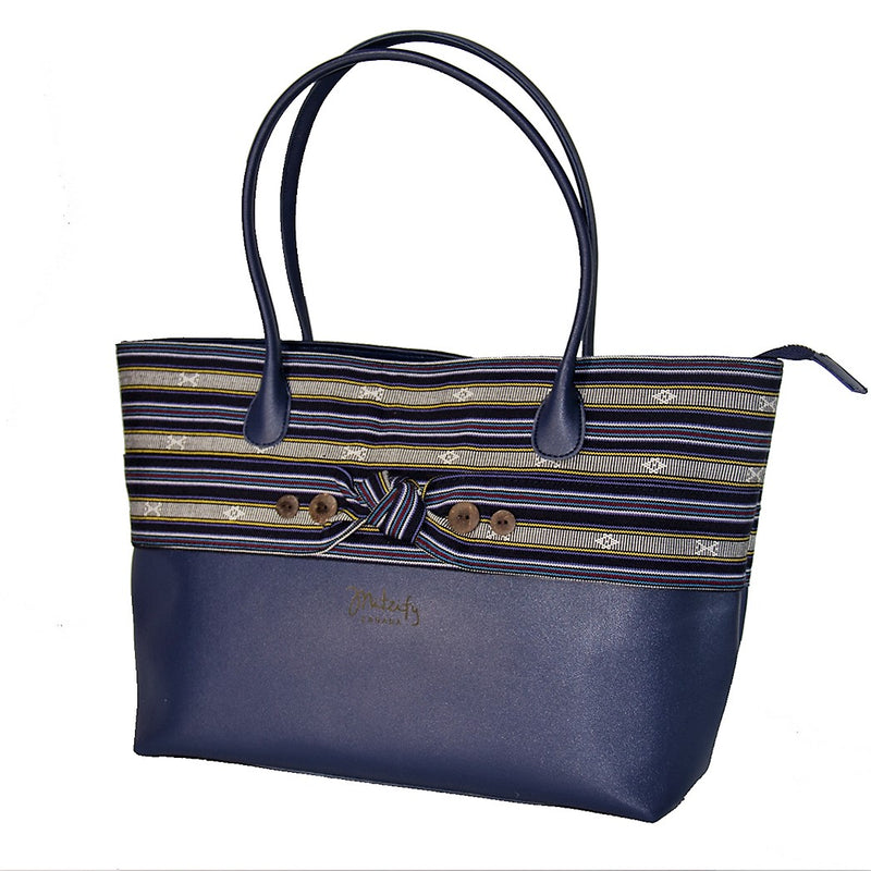 The Indigenous Collection - Tote Bag in Navy Blue