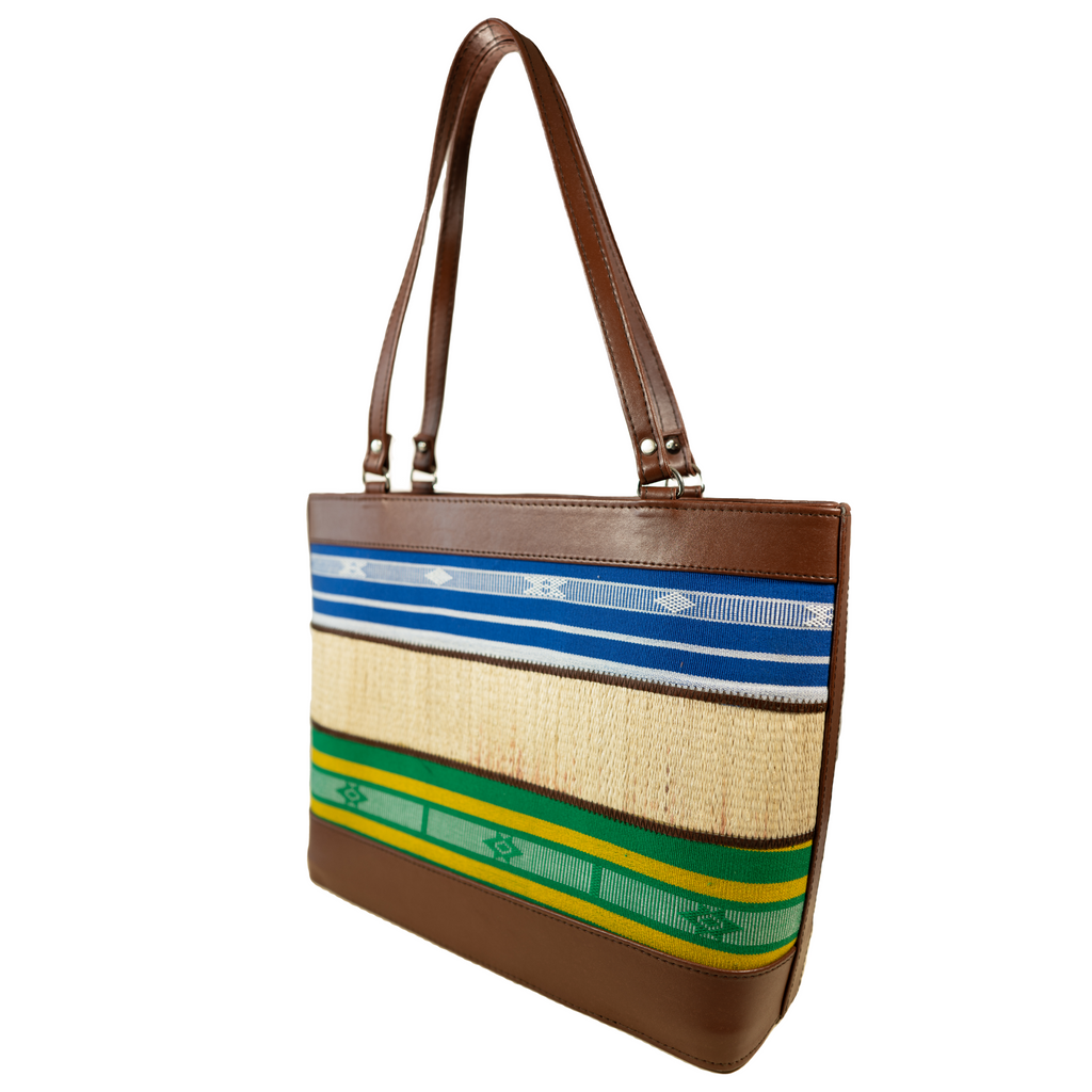 The Indigenous Collection - Brown Tote Bag.