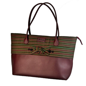 The Indigenous Collection - Tote Bag in Plum.