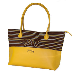 The Indigenous Collection - Tote Bag in Yellow.