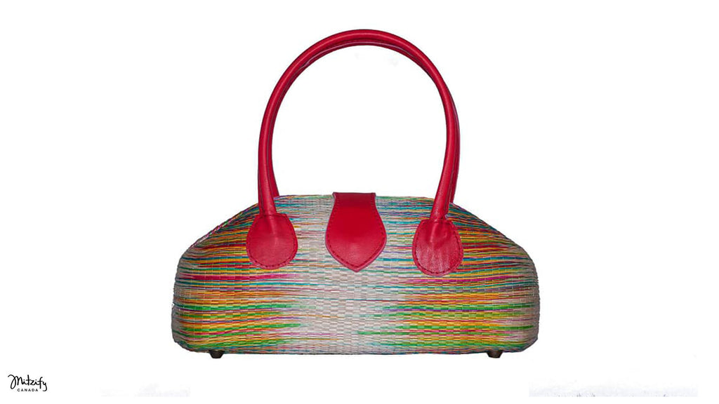 Buntal Handbag Lip Shape