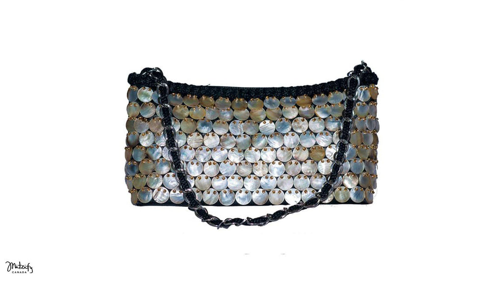 Mother Of Pearl Evening Bag.