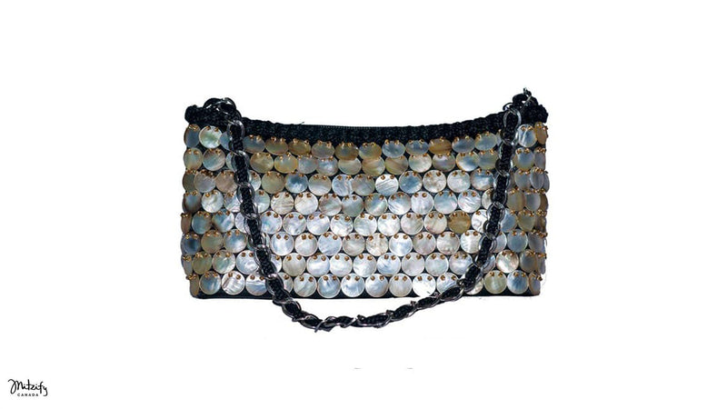 Mother Of Pearl Evening Bag