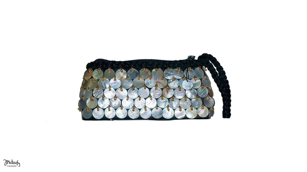 Mother of Pearl - Shell Pouch.