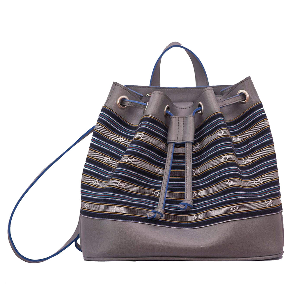 The Indigenous Collection - Backpack in Gray.