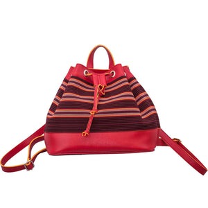 The Indigenous Collection - Backpack in Red
