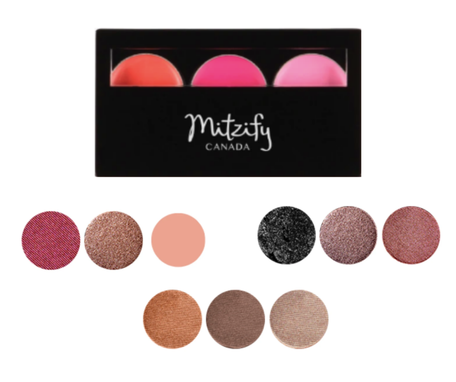 Velour Eyeshadow (3-Well Palette).