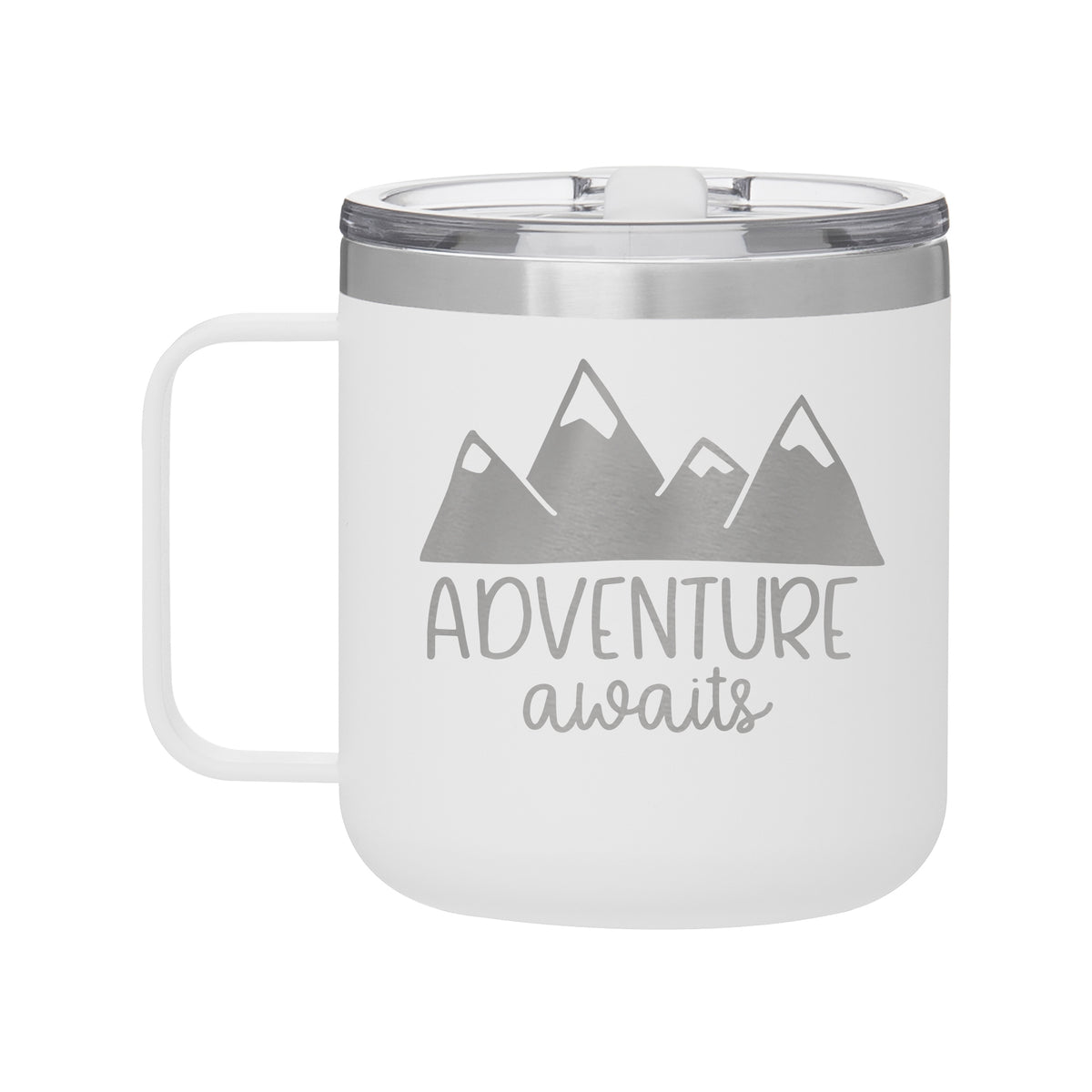 Adventure Awaits Camp Mug-Tumblers + Mugs-Maddie & Co.