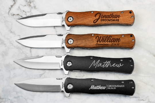 Groomsman Personalized Knife-Knives-Maddie & Co.