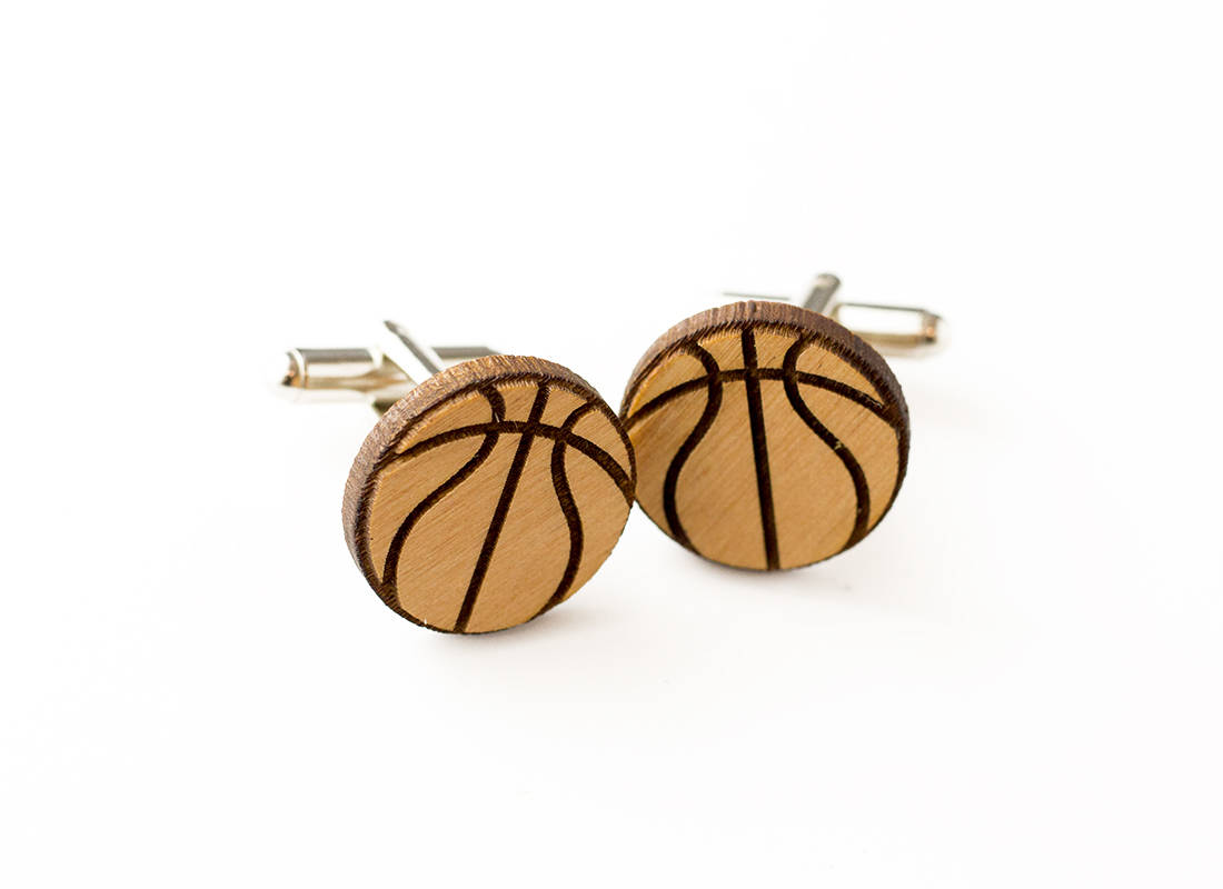Basketball Cuff links-Groomsmen Gift-Maddie & Co.