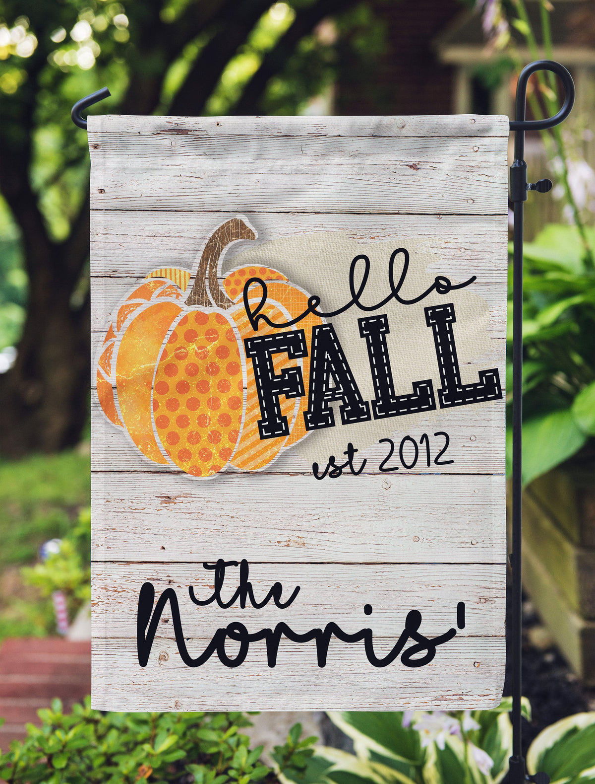 Hello Fall Garden Flag-Outdoor / Garden-Maddie & Co.