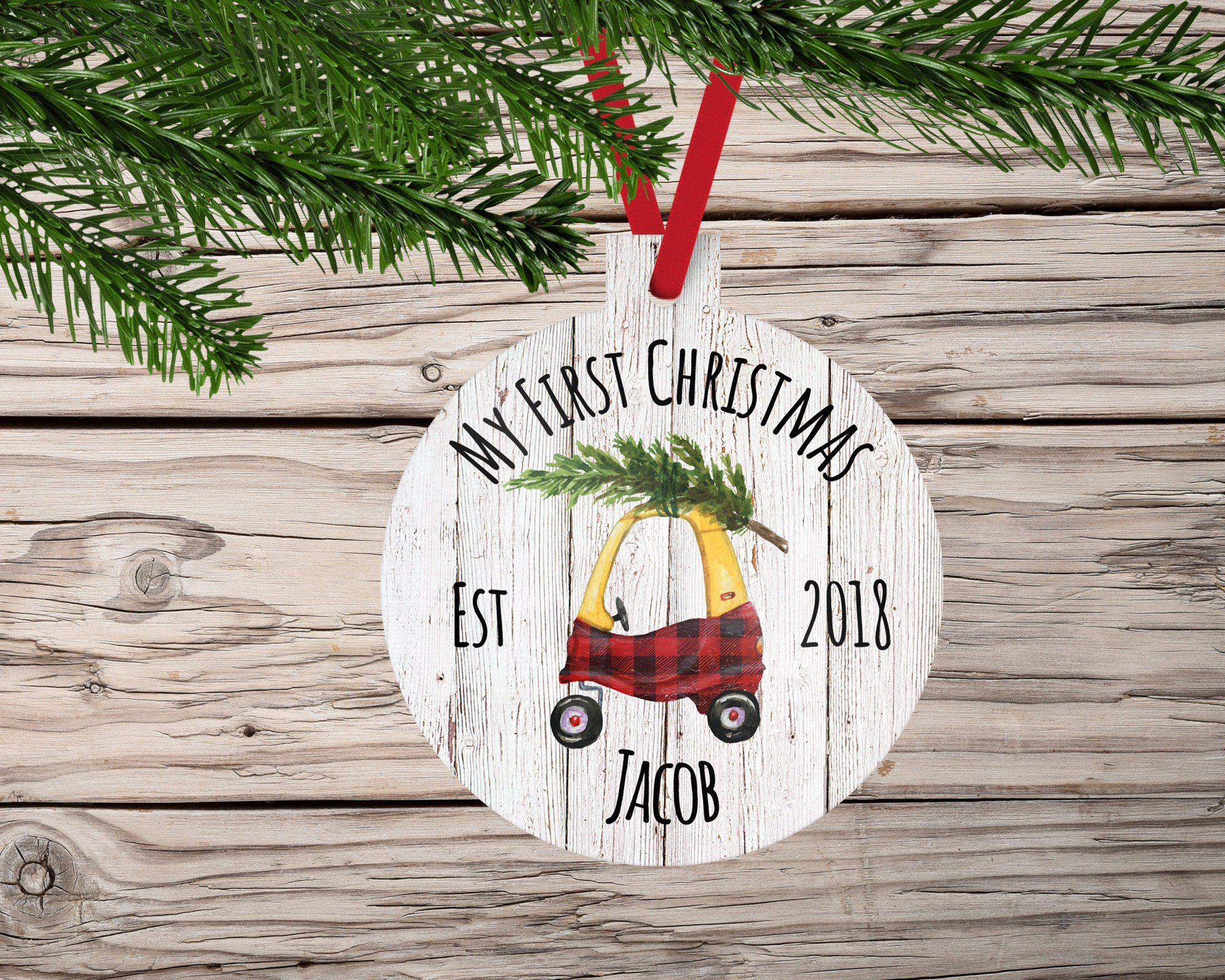 My First Christmas Ornament-Ornaments-Maddie & Co.