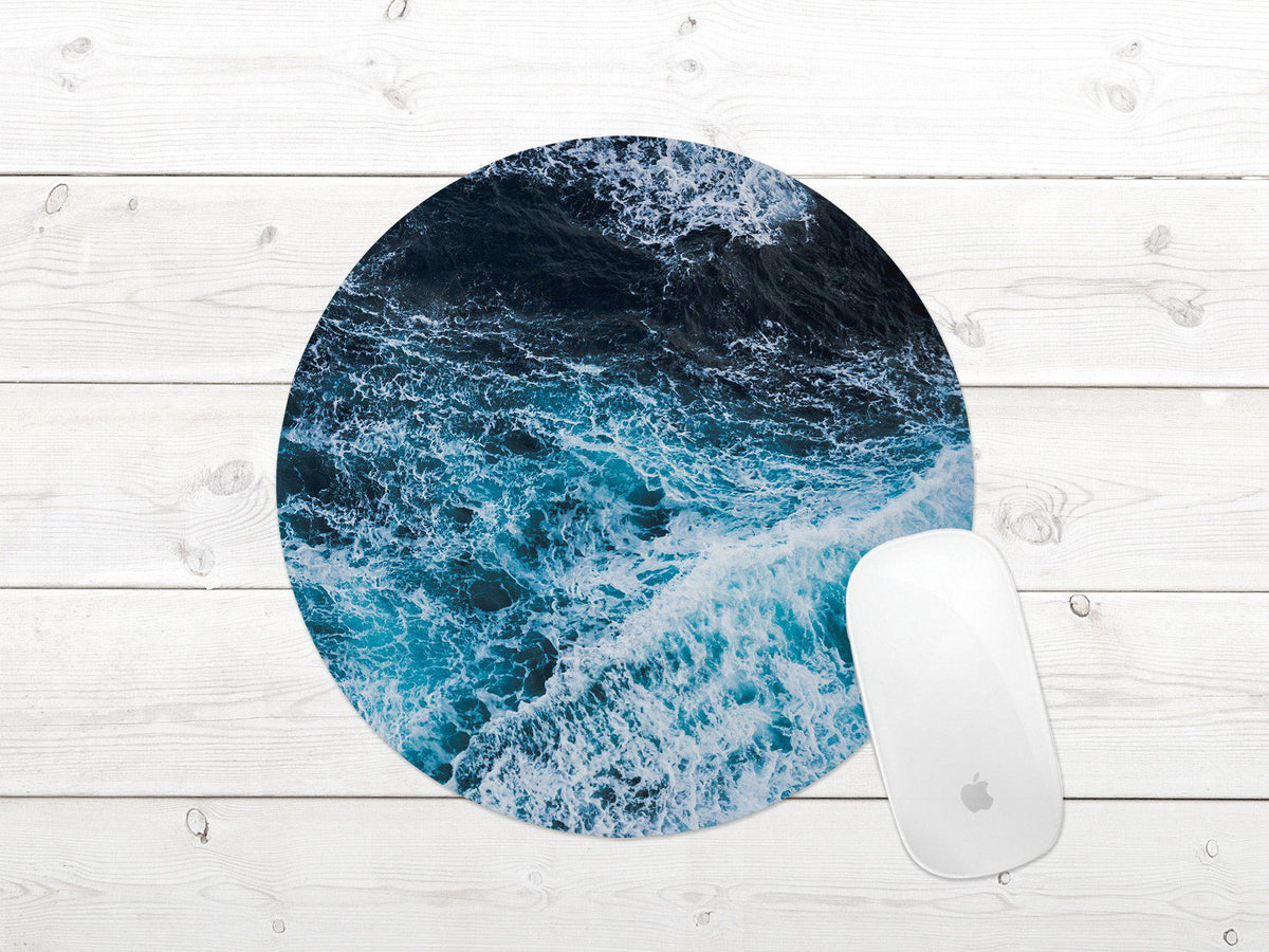 Ocean Wave Mouse Pad-Home Decor-Maddie & Co.