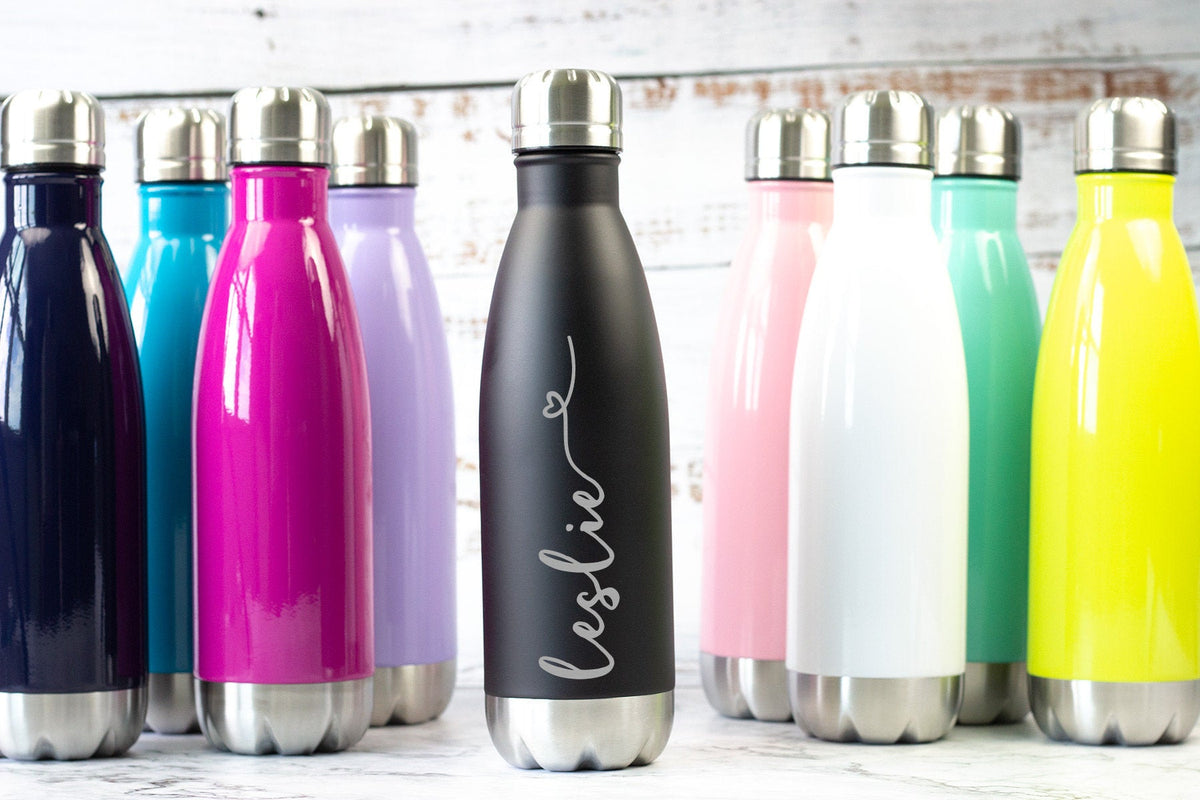 Monogrammed Water Bottle-Tumblers + Water Bottles-Maddie & Co.
