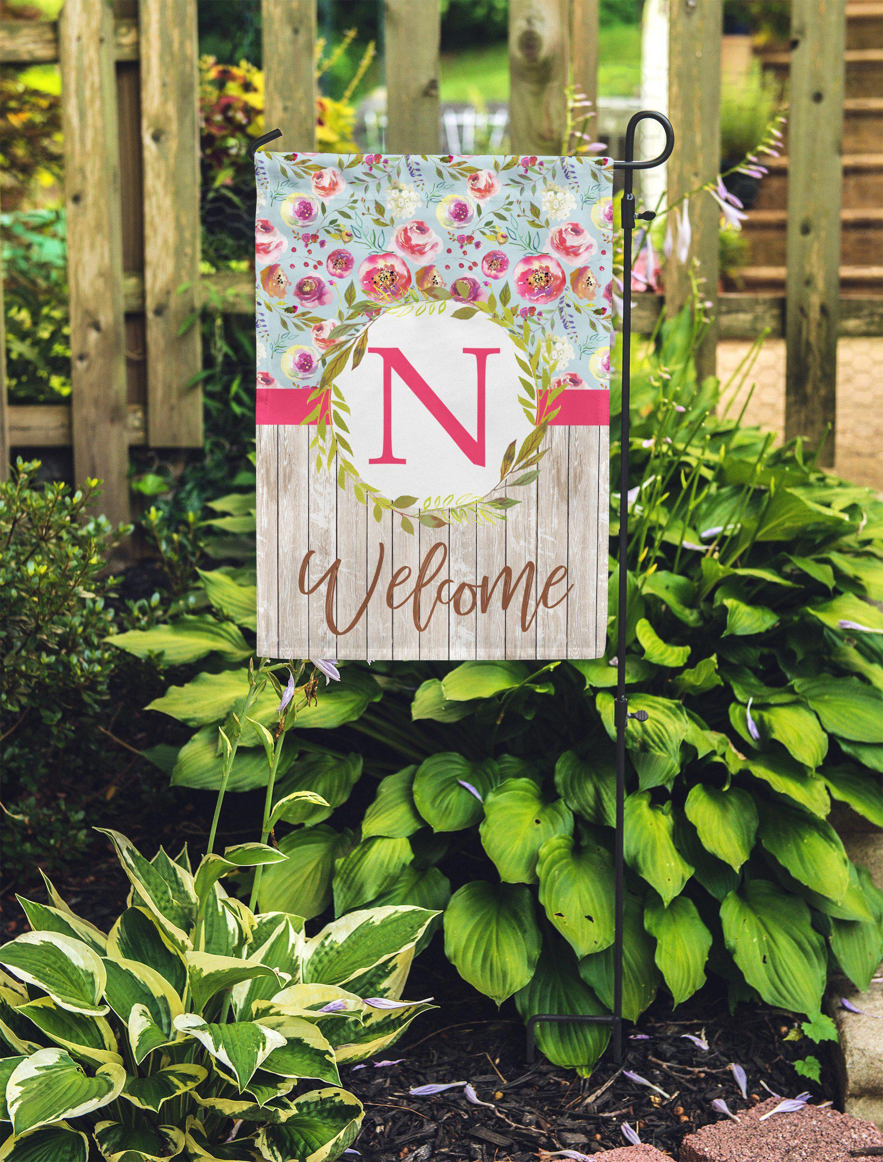 Personalized Floral Garden Flag-Outdoor / Garden-Maddie & Co.