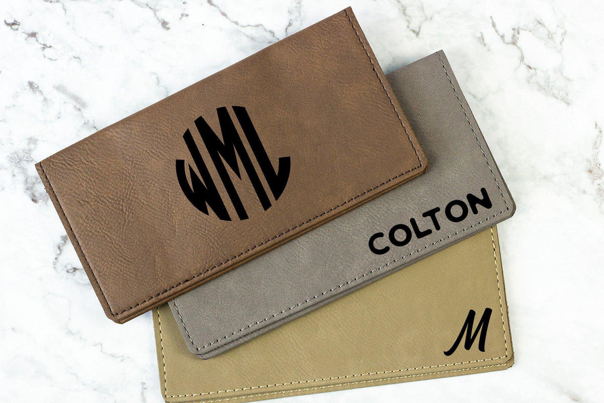 Personalized Checkbook Covers-Checkbooks-Maddie & Co.