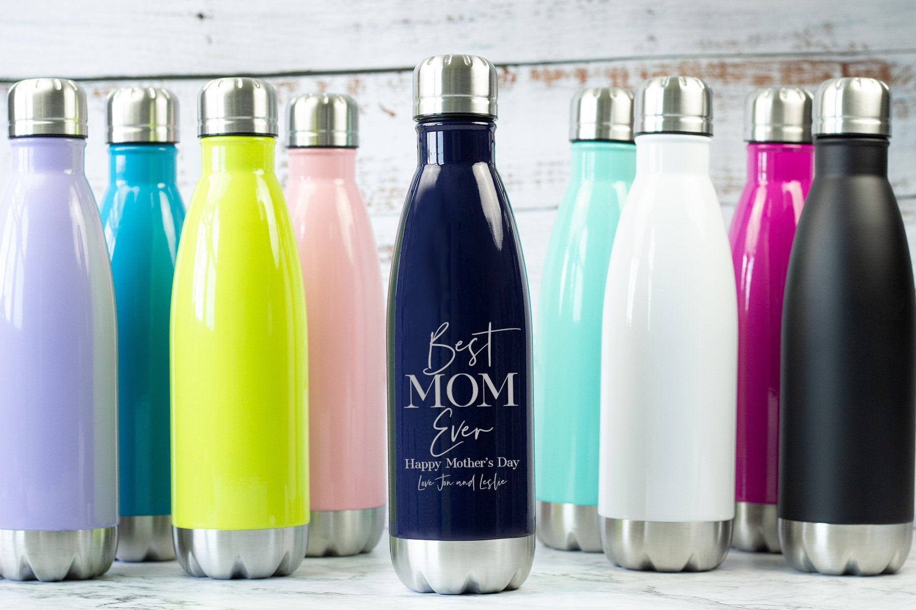 Best Mom Ever Water Bottle-Tumblers + Mugs-Maddie & Co.