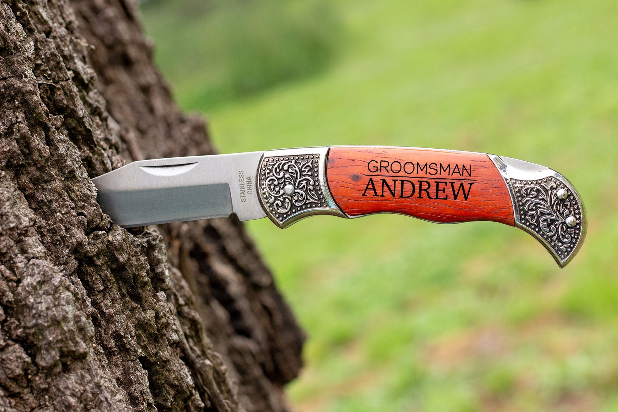 Pocket Knife-Groomsmen Gift-Maddie & Co.