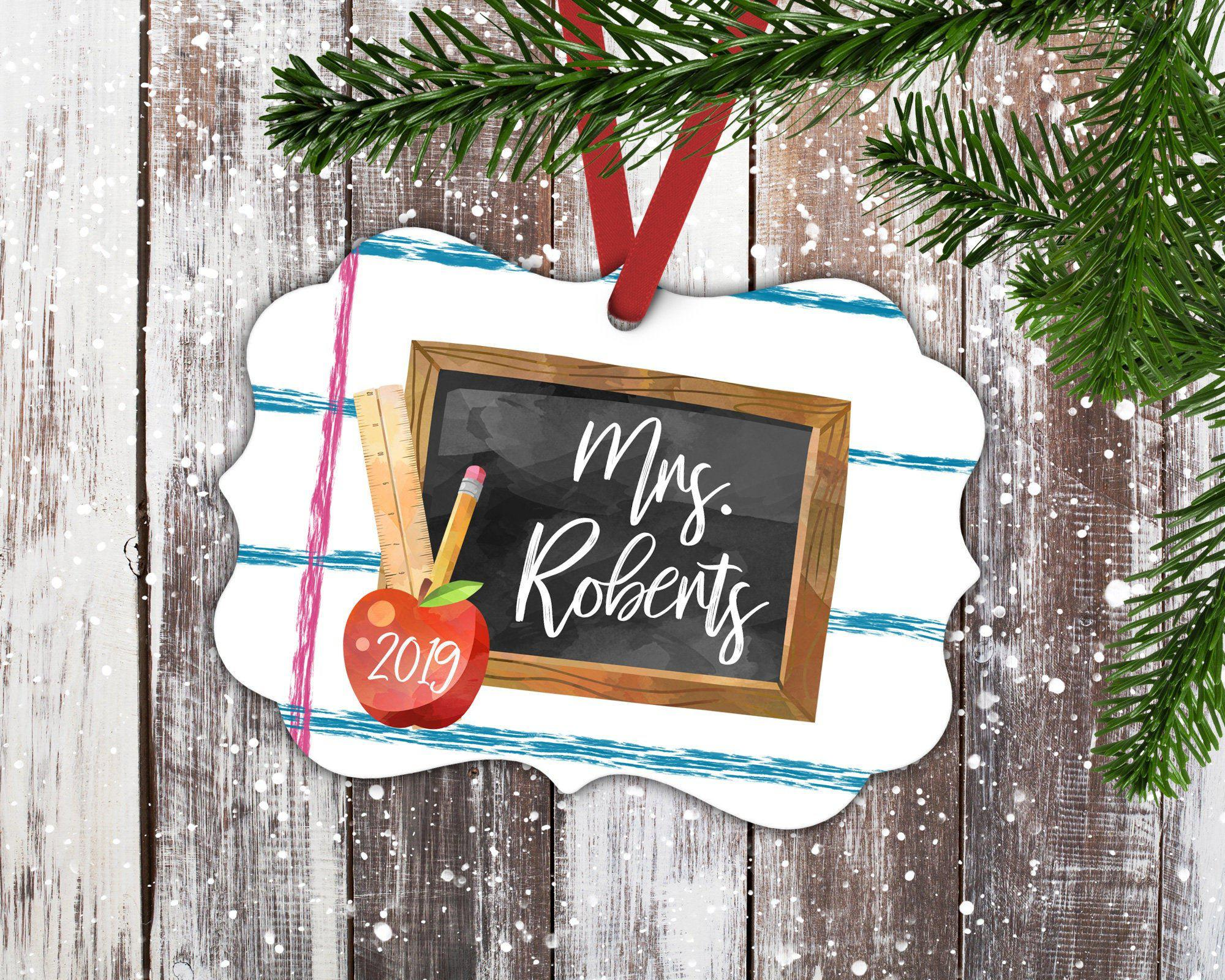 Teacher Christmas Ornament-Ornaments-Maddie & Co.