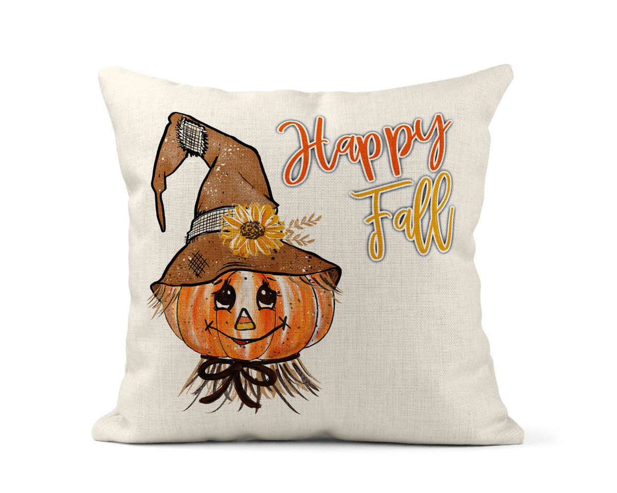 Scarecrow Throw Pillow-Home Decor-Maddie & Co.