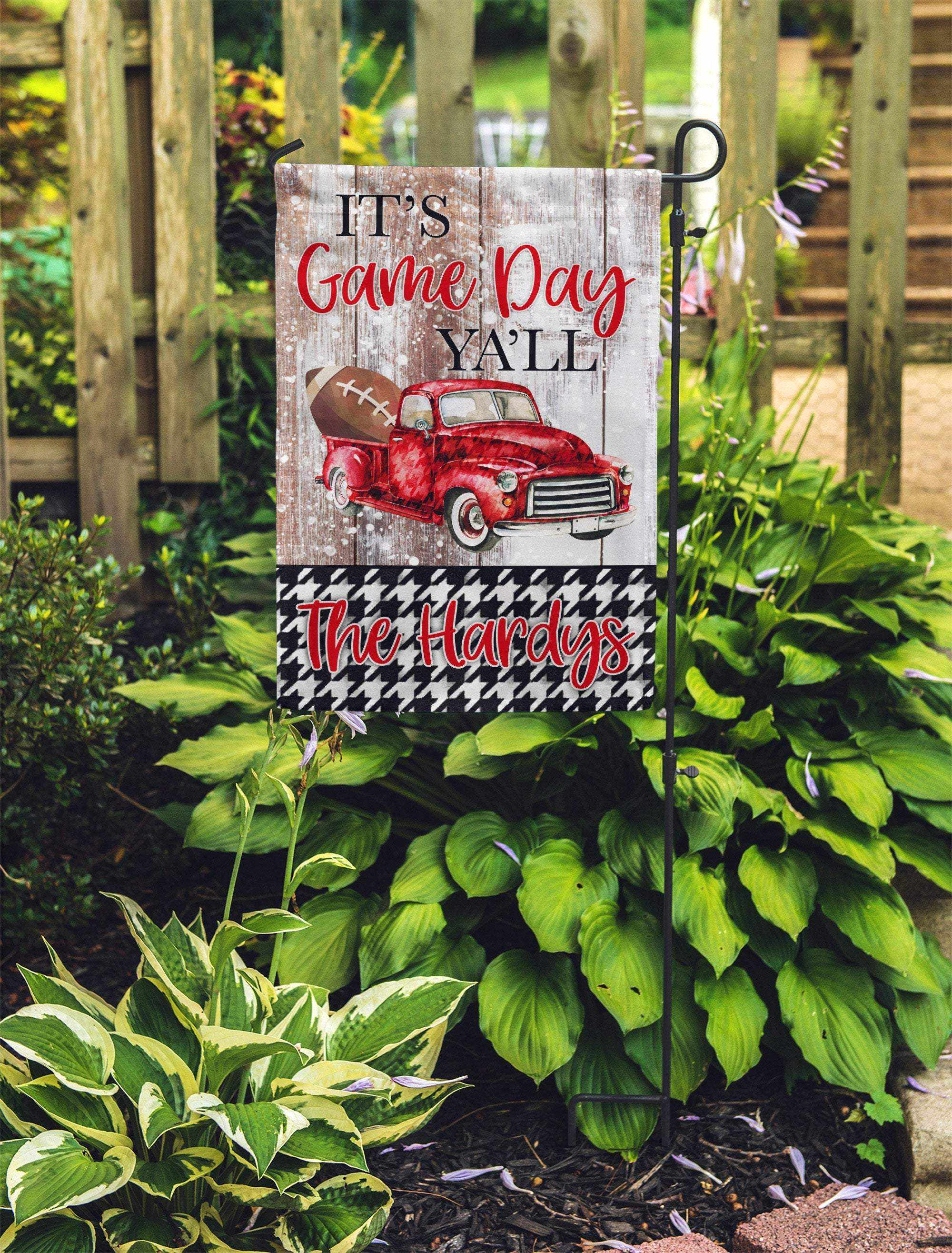Alabama Crimson Tide Personalized Garden Flag-Outdoor / Garden-Maddie & Co.