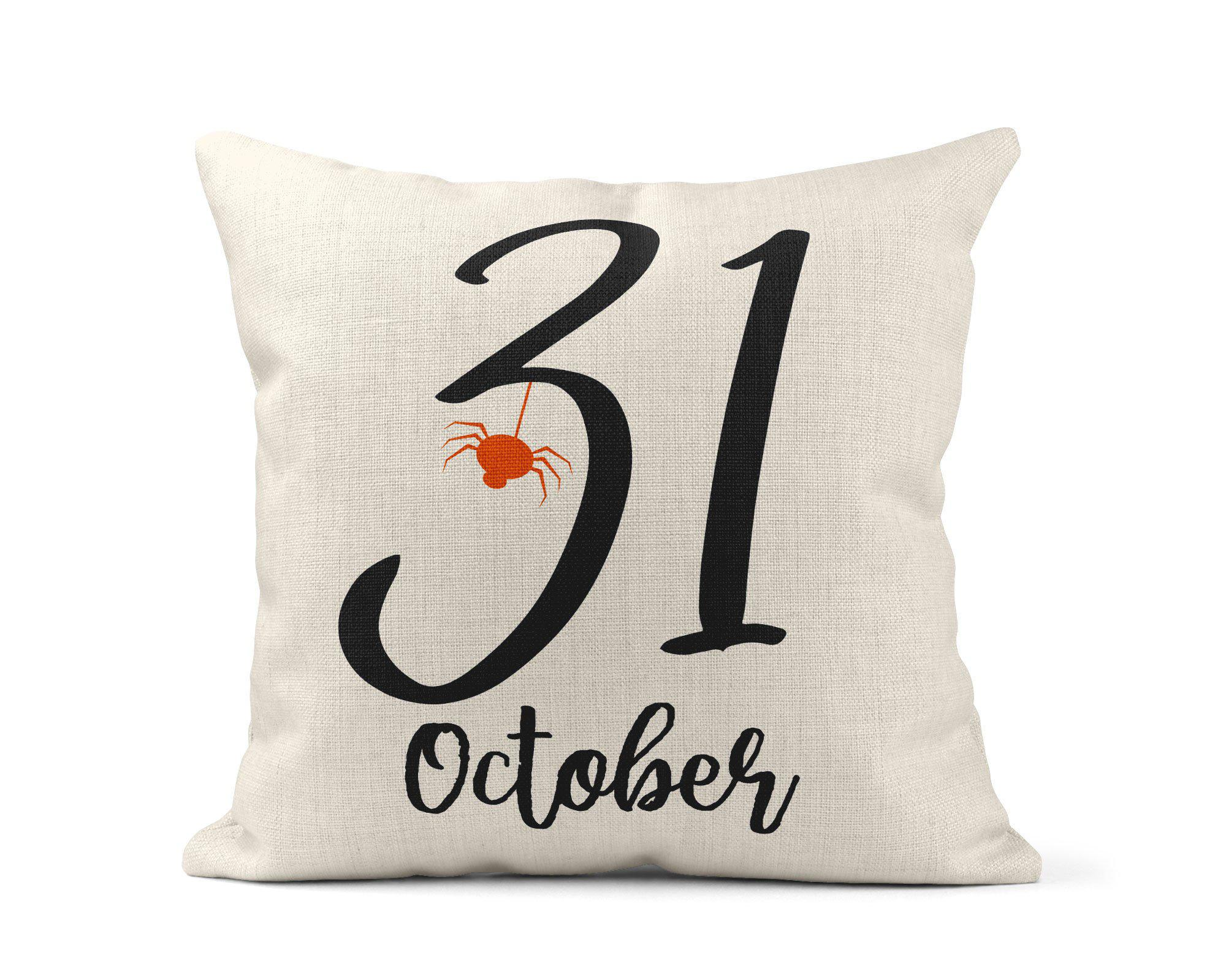 October 31 Throw Pillow-Home Decor-Maddie & Co.
