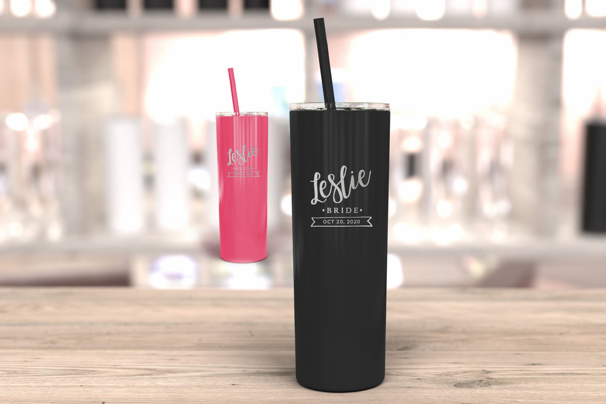 Bridesmaid Tumbler-Tumblers + Water Bottles-Maddie & Co.