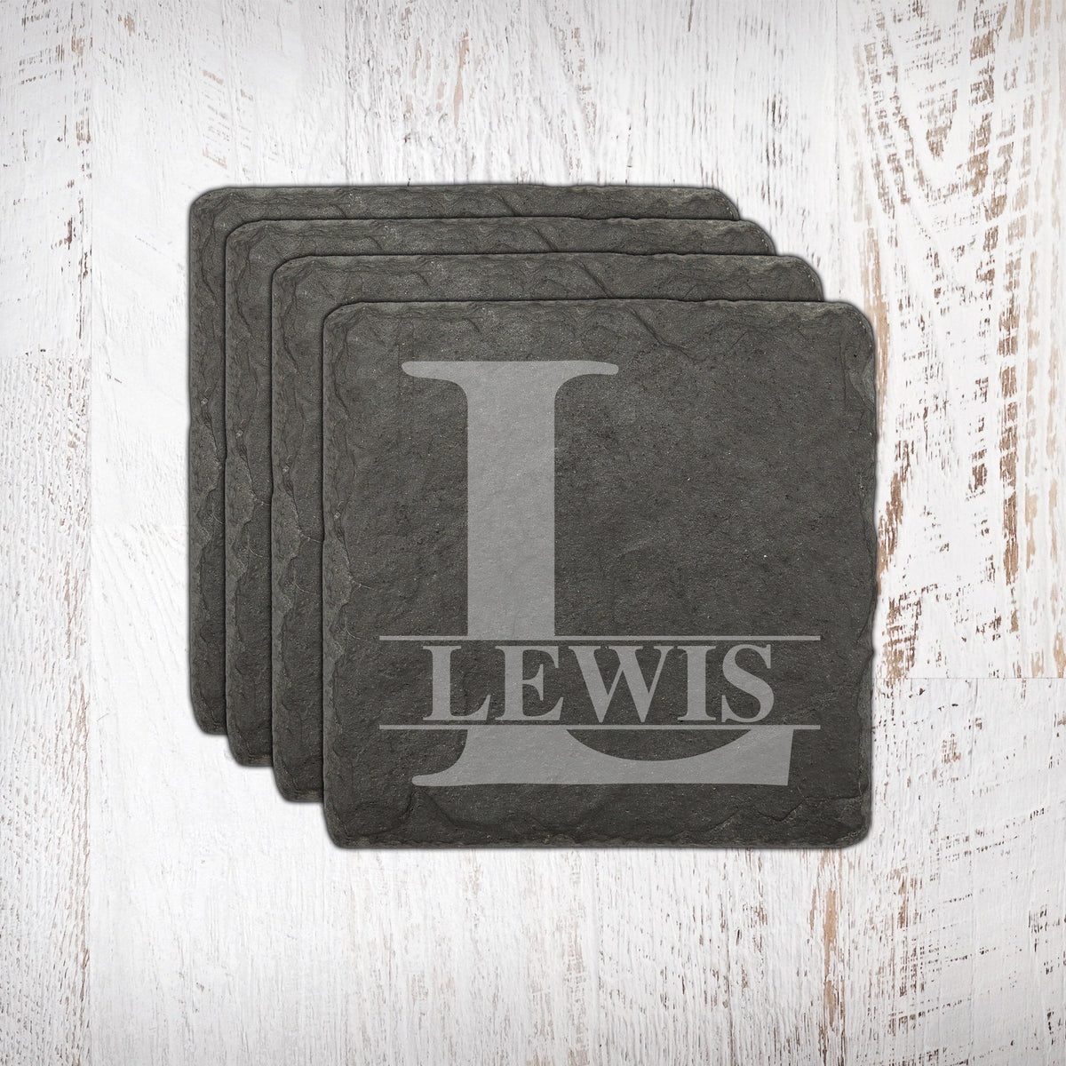 Personalized Slate Coasters-Home Decor-Maddie & Co.