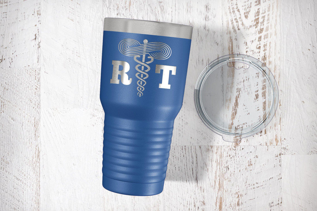 Respiratory Therapist Engraved Tumbler-Tumblers + Water Bottles-Maddie & Co.