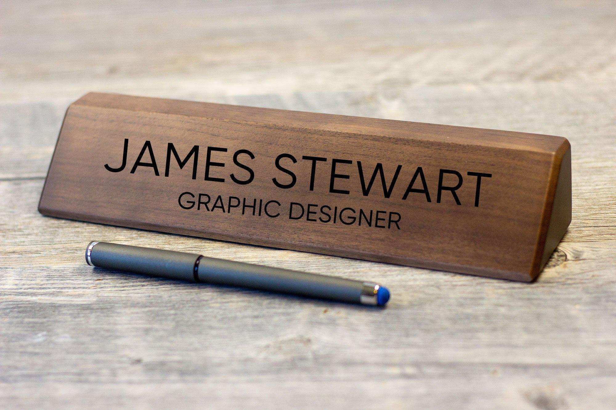 Desk Name Plate-Maddie & Co.