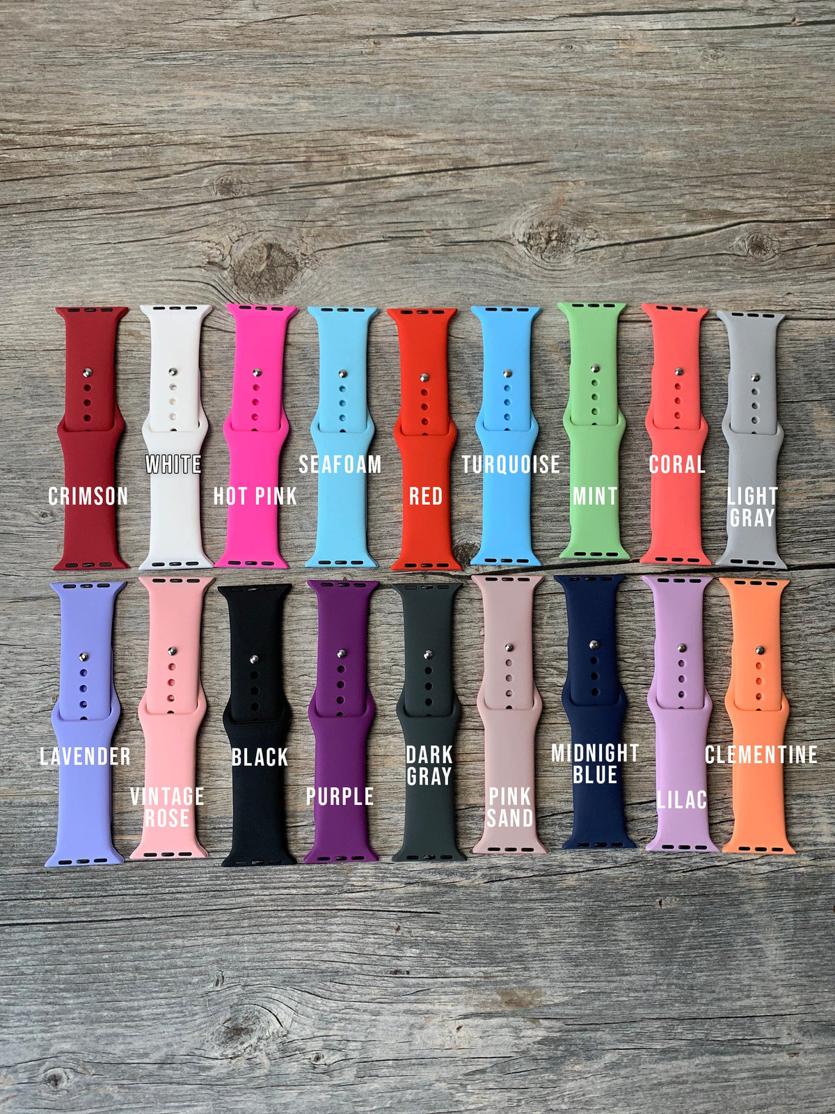 Engraved Apple™ Watch Band-Accessories-Maddie & Co.