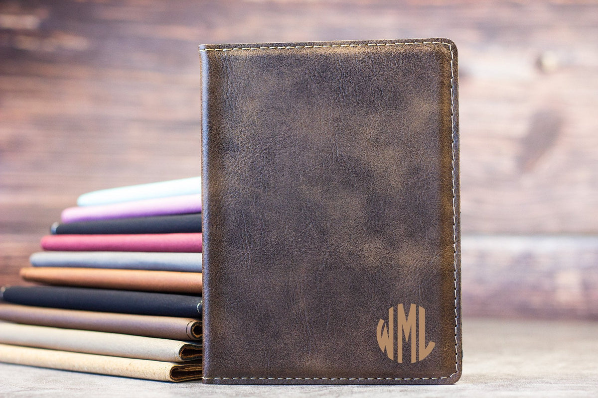 Circle Initial Passport Cover-Maddie & Co.
