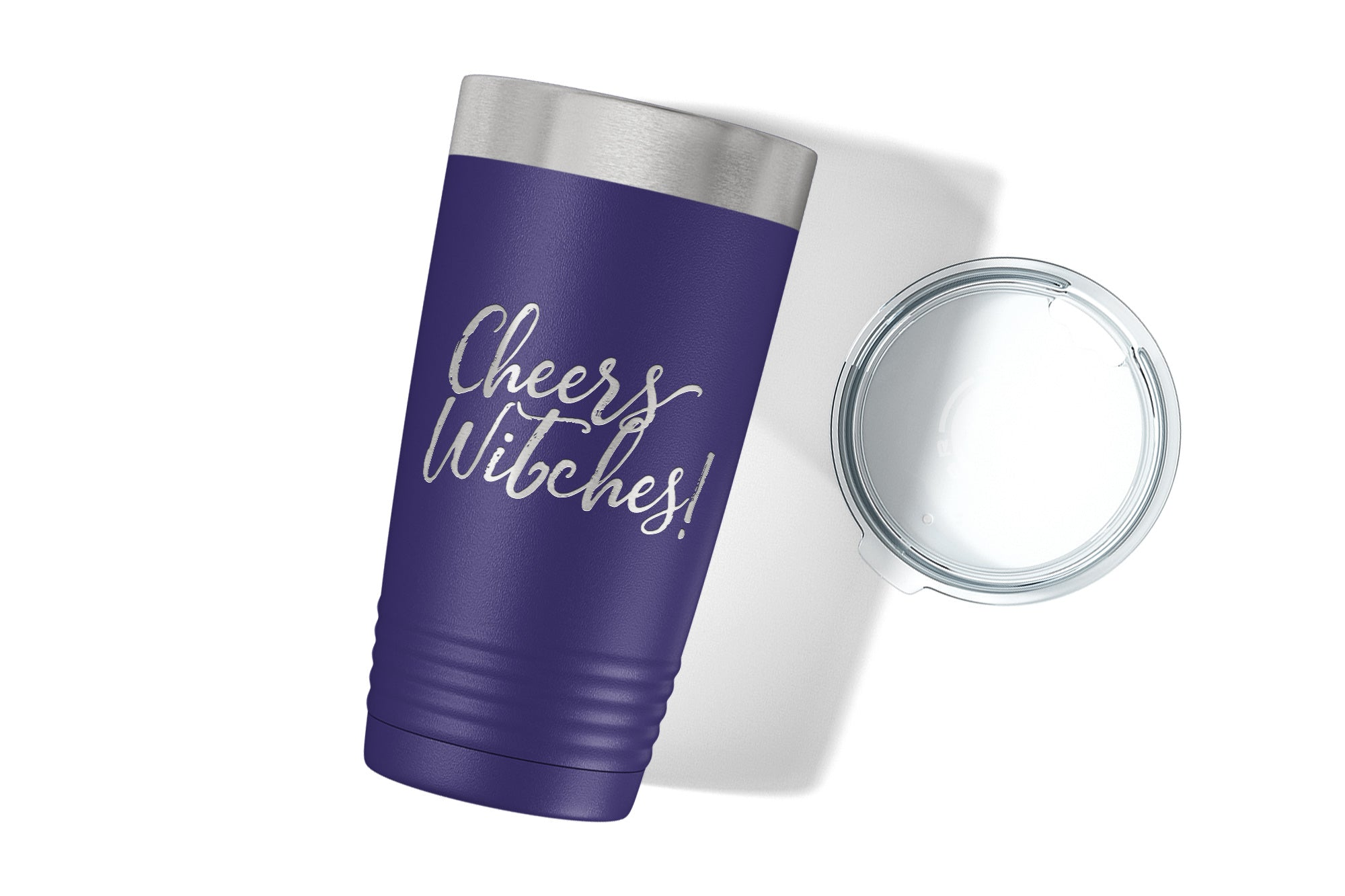 Cheers Witches Engraved Tumbler-Tumblers + Water Bottles-Maddie & Co.