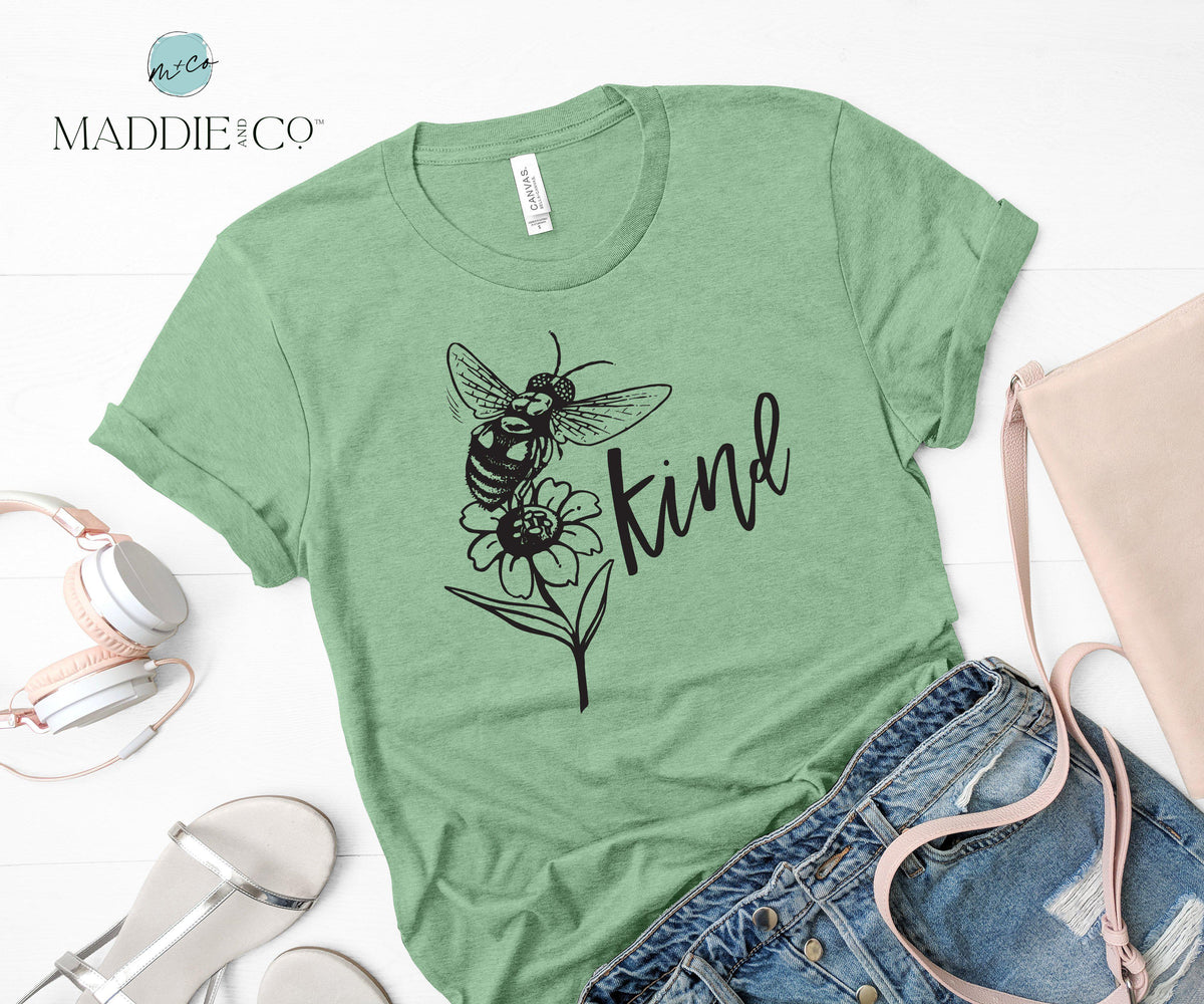Be Kind Unisex Shirt-T-shirt-Maddie & Co.