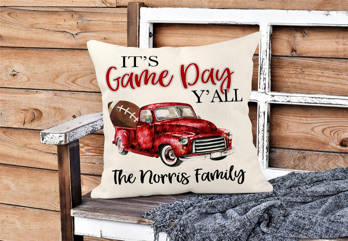 It's Game Day Ya'll Alabama Throw Pillow-Home Decor-Maddie & Co.
