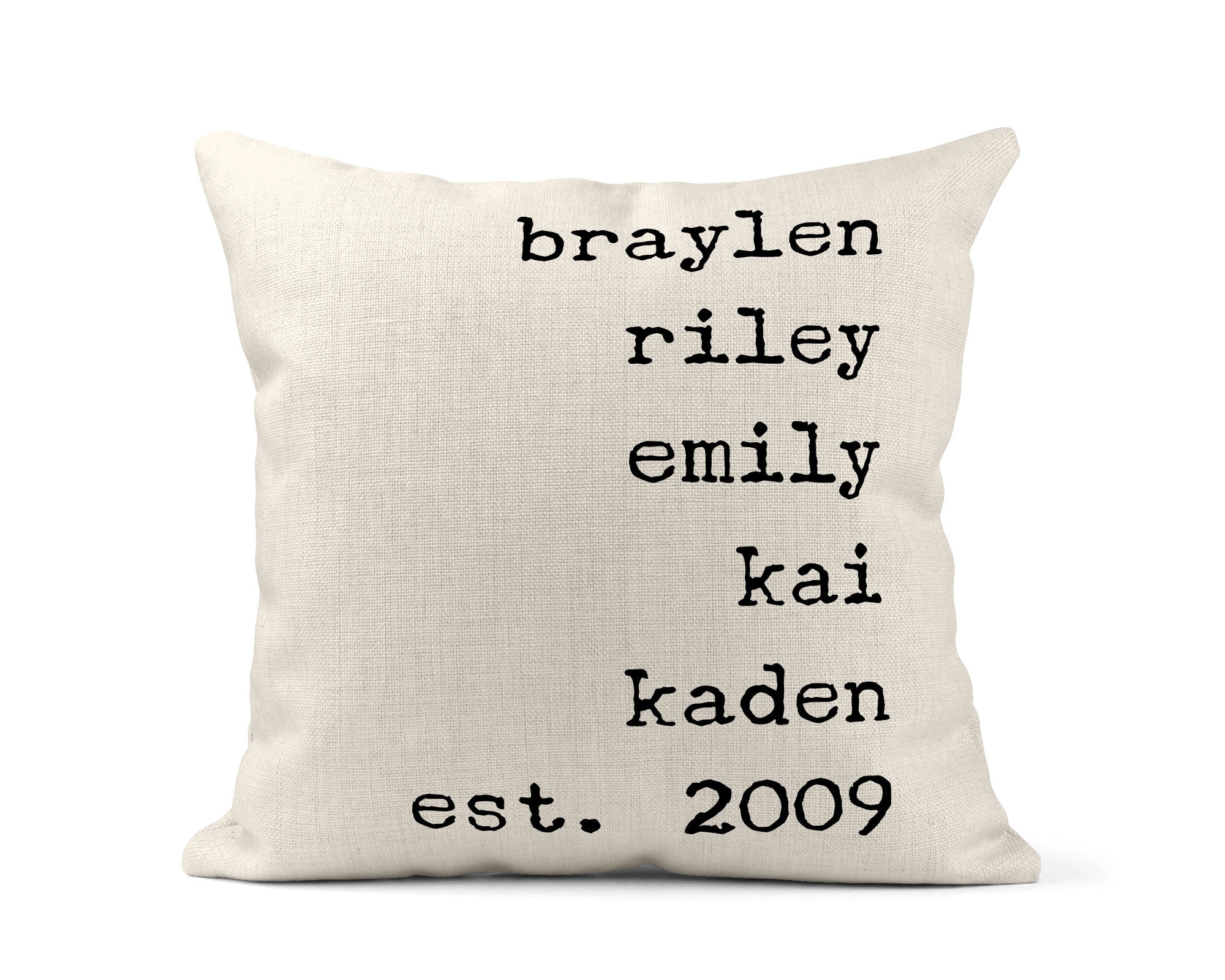 Family Pillows-Home Decor-Maddie & Co.