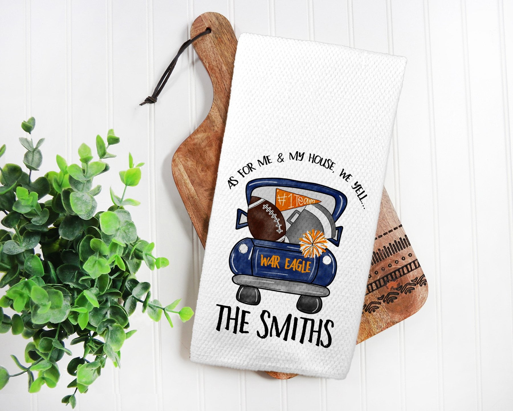 Auburn Tigers Tea Towel-Maddie & Co.