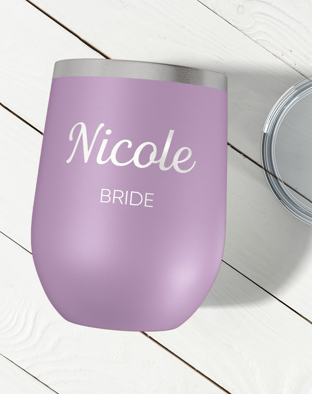 Personalized Wine Tumbler-Wine Tumblers-Maddie & Co.