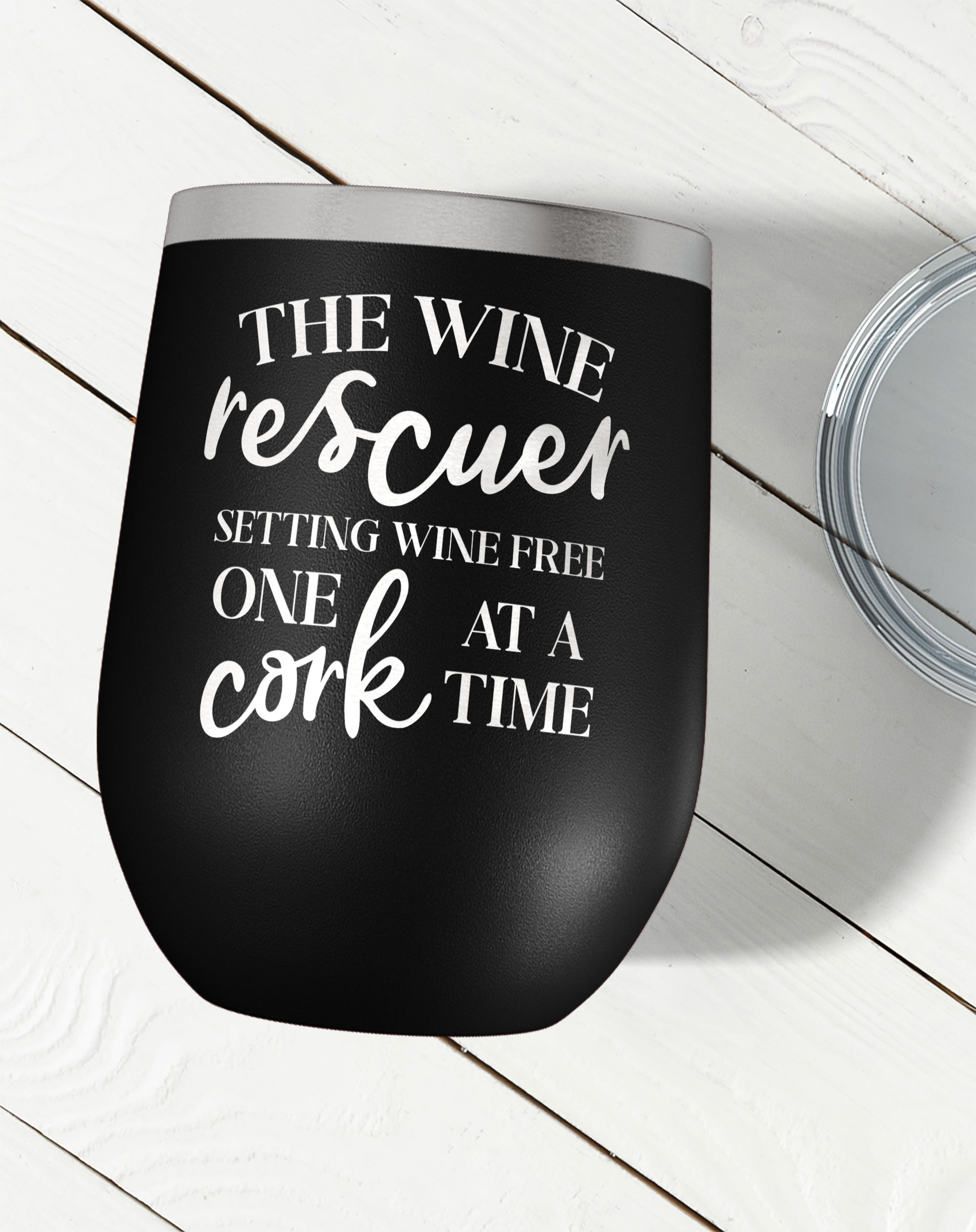 The Wine Rescuer Wine Tumbler-Wine Tumblers-Maddie & Co.