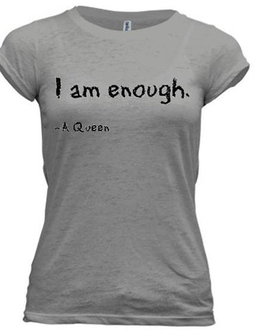 I am enough.