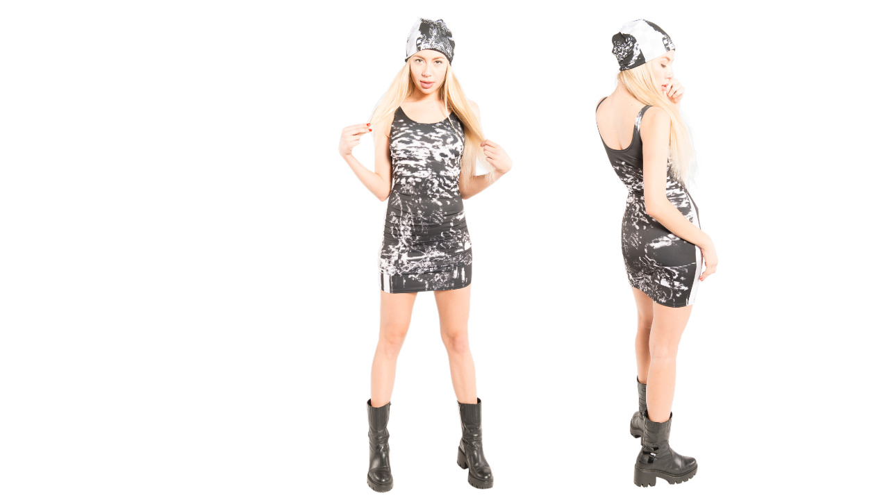 When going to your next concert or music festival you might want to wear an out from J'aime. This girl is styled in several different wears to attend different events.