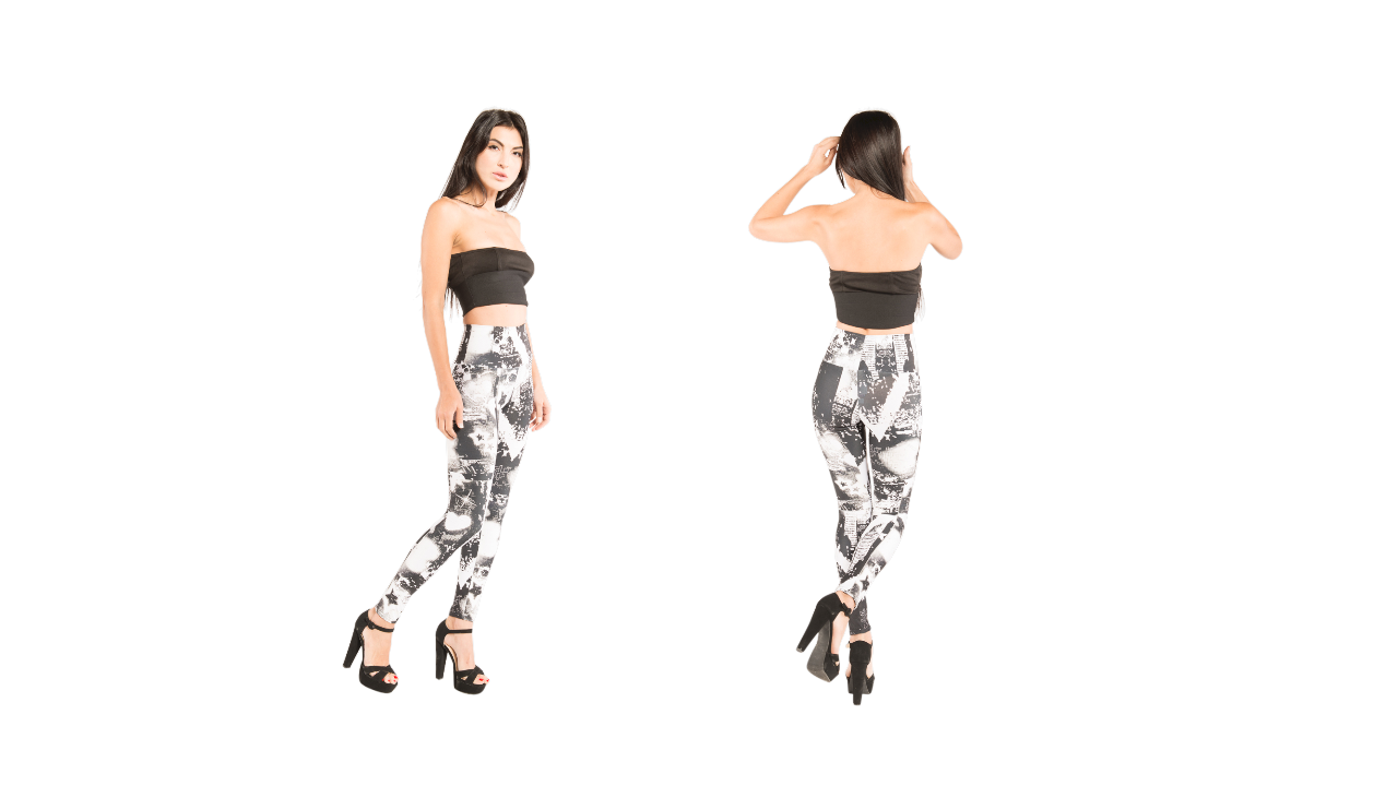 J'aime has the latest fashion in designer leggings that you can wear as you work out or you can dress them up to go out in.