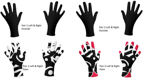 J'aime designer protective gloves were designed to protect you from various elements.