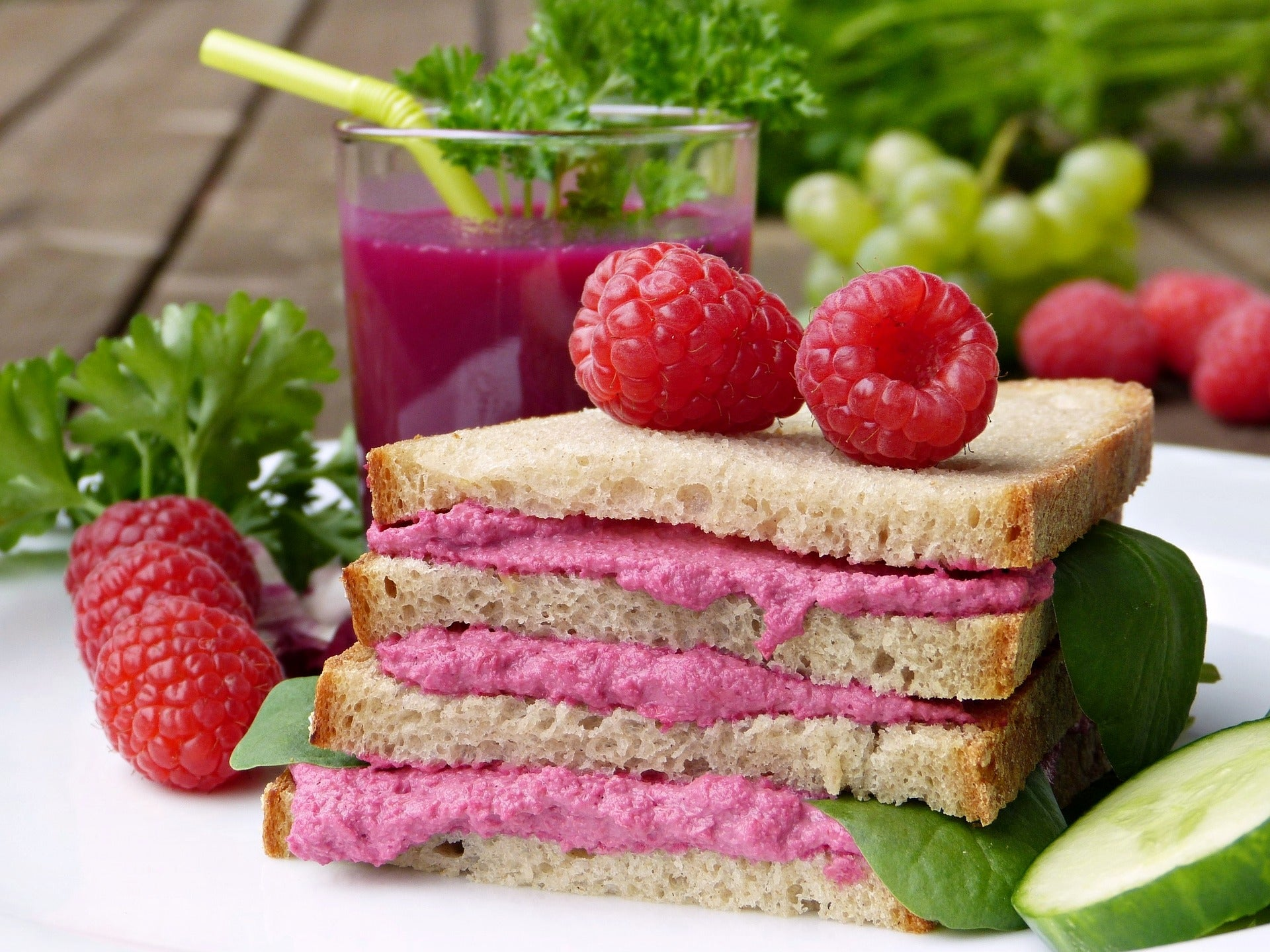 Creating healthy spreads to put in between your sandwiches can be a fun mindfulness exercise you can do alone or with your family.