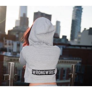 Women's Grey Hoodie (#WH2) - WrongWired