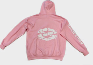 Pink Hoodie (#MH3) - WrongWired