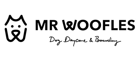 Mr. Woofles Doggy Daycare Logo