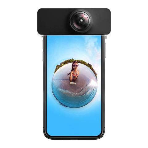 OVOCLIP ™ Snap-On 360 Degree Panoramic Lens - Goldycart.com